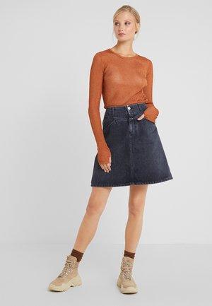 IBBIE - A-line skirt - dark grey