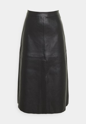 PCSURIANNA - A-line skirt - black