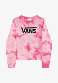 Vans - GR HYPNO CREW GIRLS - Sweatshirt - fuchsia purple - 2