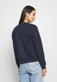 ONLY - ONLMYNTHE JOYCE - Sweater met rits - navy blazer - 2