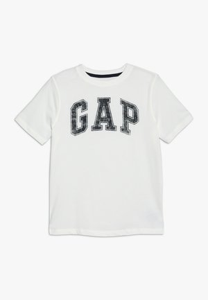 BOYS NEW ARCH SCREEN - Camiseta estampada - new off white