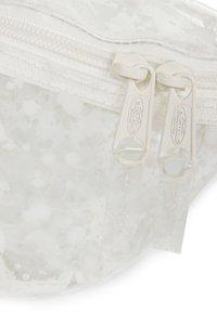Eastpak - CRYSTAL CLEAR - Bum bag - splash white - 3