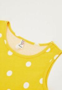 DeFacto - Jersey dress - yellow - 2