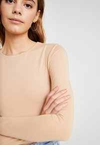 Even&Odd - 2 PACK  - Long sleeved top - tan/black - 5