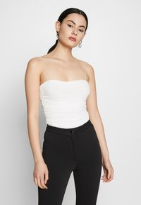 Nly by Nelly - THIN STRAP - Top - white - 0