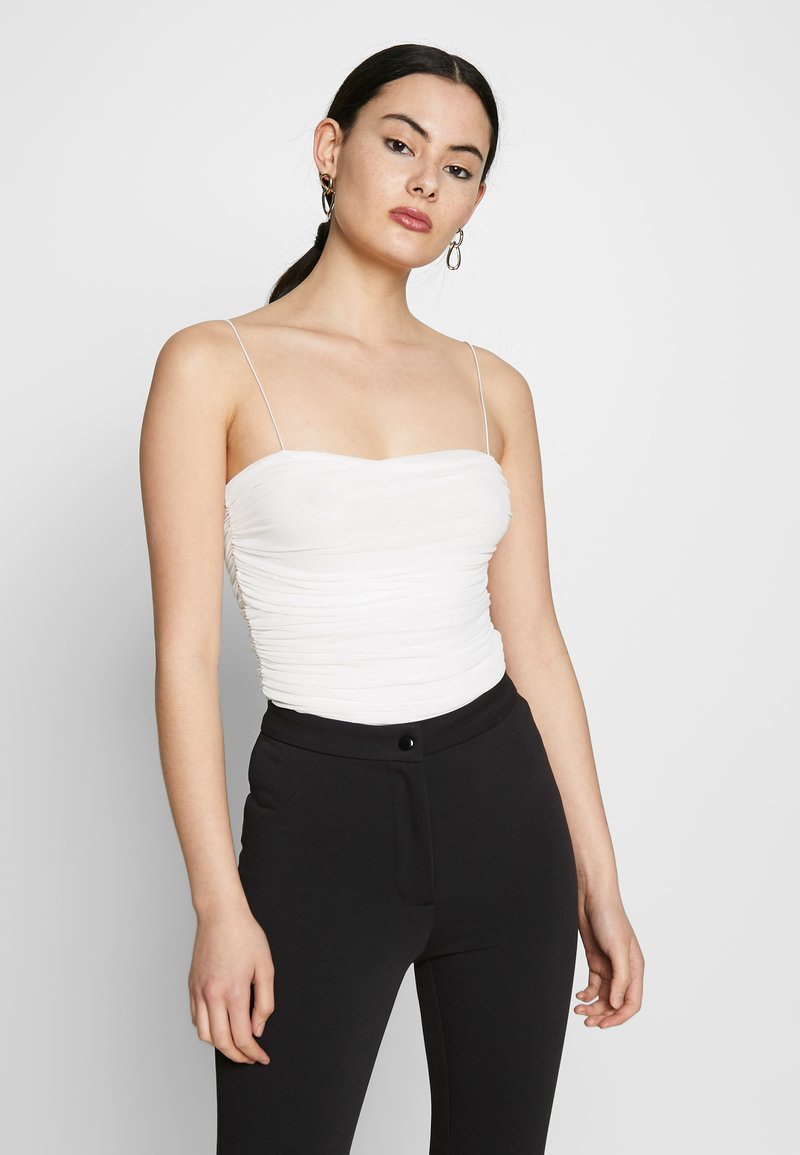 Nly by Nelly - THIN STRAP - Top - white