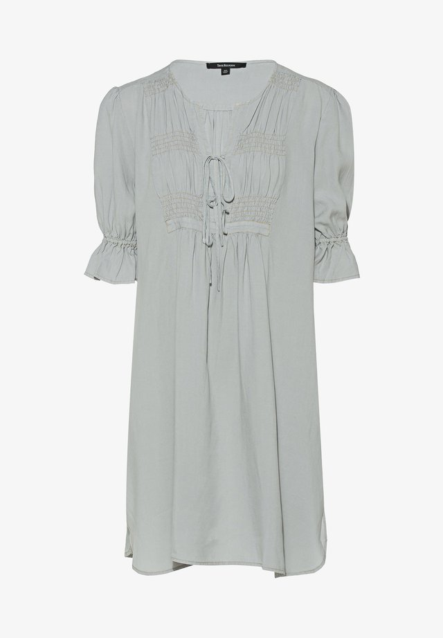 Korte jurk - grey marl