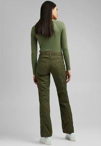Esprit - PLAY - Trousers - khaki green - 3