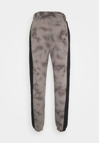 Urban Threads - TIE DYE JOGGERS WITH SIDE PANEL - Tracksuit bottoms - grey - 1