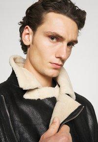 Sixth June - AVIATOR JACKET - Faux leather jacket - black - 3