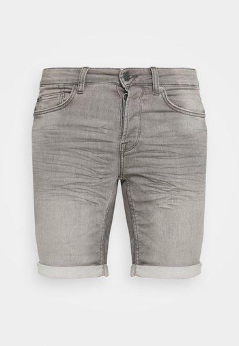 ONSPLY LIFE  - Denim shorts - grey denim