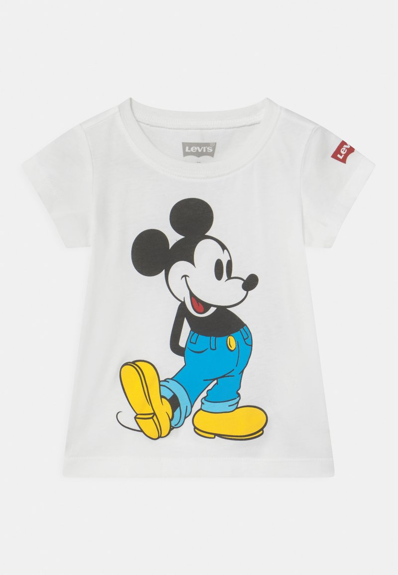 Levi's® - MICKEY MOUSE CLASSIC  - T-shirt con stampa - white
