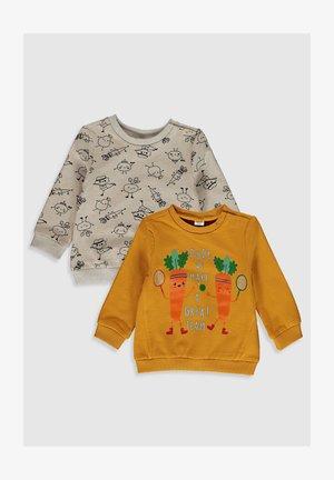 2PACK - Sweater - yellow