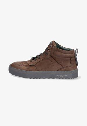 Sneakers hoog - bruin