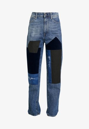 MIDGE HIGH BOYFRIEND - Slim fit jeans - light blue