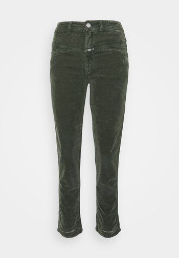 PEDAL PUSHER - Trousers - thyme