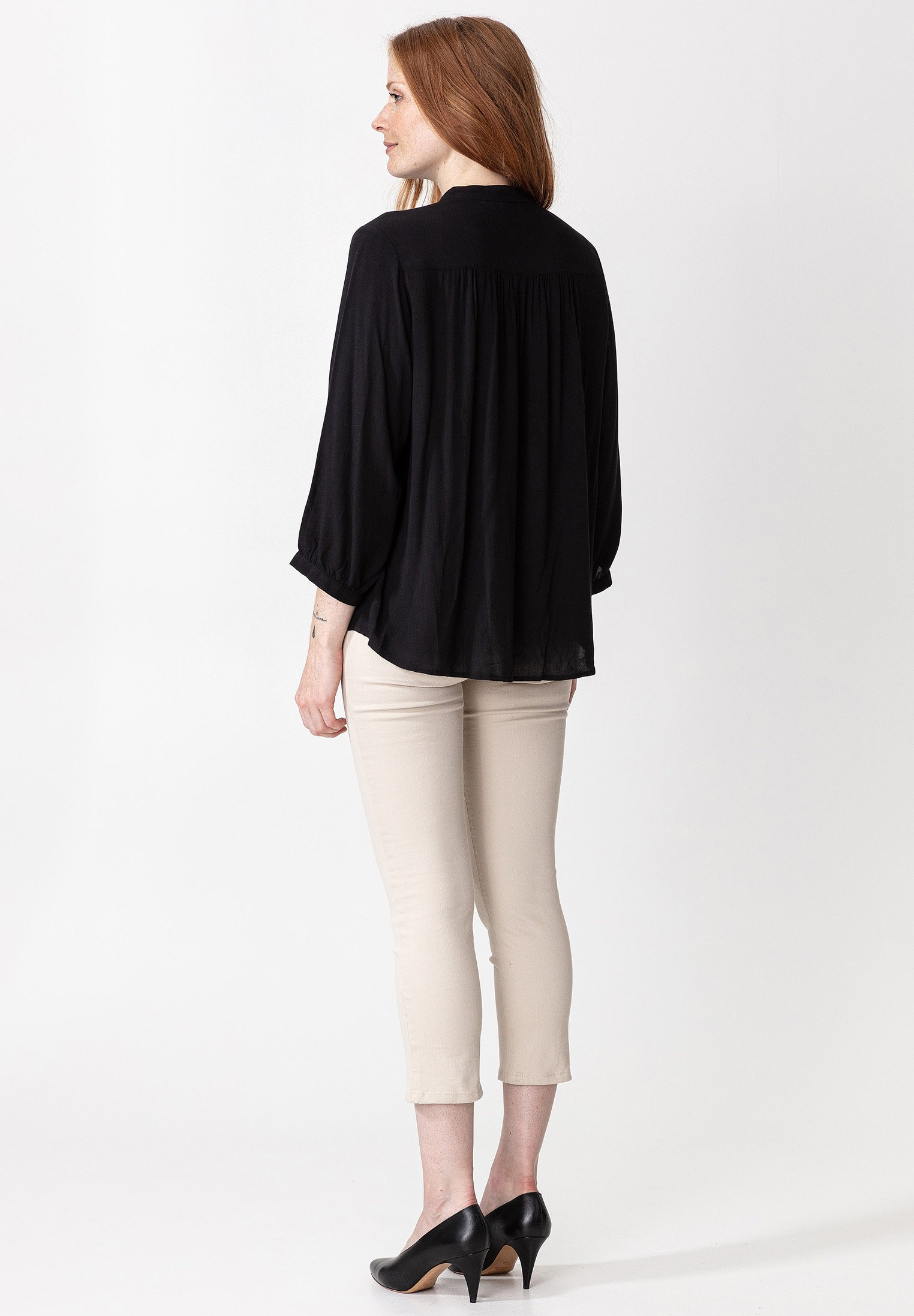 Indiska RIVERA - Overhemdblouse - black - Dameskleding AAA-kwaliteit