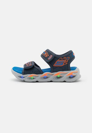 THERMO-SPLASH - Sandalen - navy/orange/royal