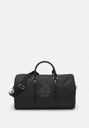 MONOGRAM EMBOSS DUFFLE - Weekend bag - dark grey