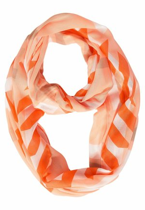 LEICHT TRANSPARENTER LOOP - Snood - orange