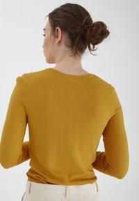 ICHI - MAFA O CA NOOS - Cardigan - mineral yellow - 2