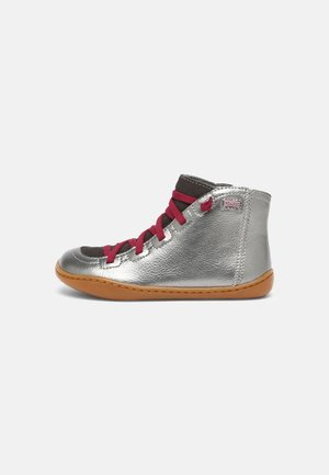 PEU CAMI KIDS - Lace-up ankle boots - silber