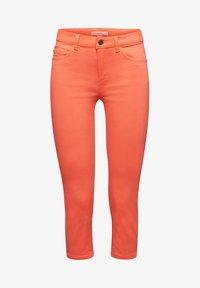 Esprit - CAPRI - Slim fit jeans - coral - 4