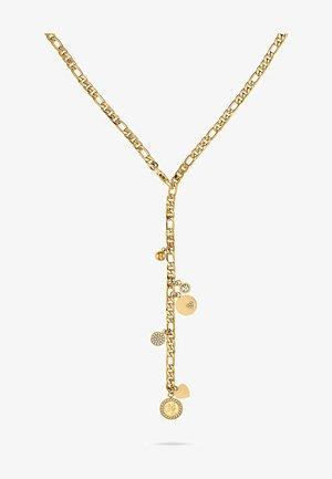 Halskette - gelbgold