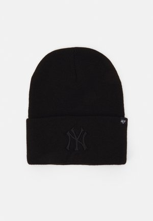 NEW YORK YANKEES HAYMAKER CUFF UNISEX - Mössa - black