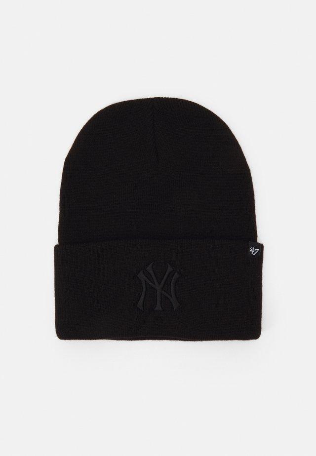 NEW YORK YANKEES HAYMAKER CUFF UNISEX - Čepice - black