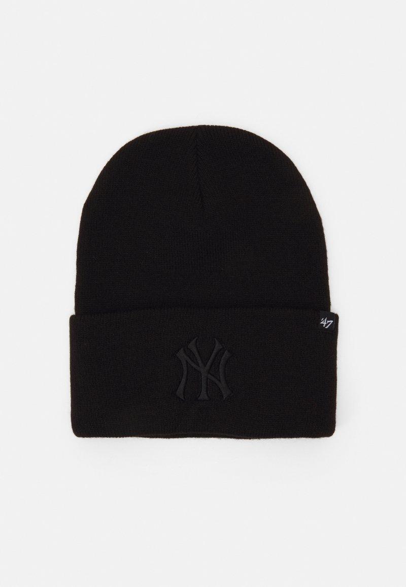 '47 - NEW YORK YANKEES HAYMAKER CUFF UNISEX - Beanie - black