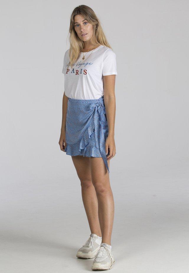 BON VOYAGE PARIS - T-shirt print - white