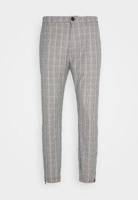 PISA CHECK PANT - Trousers - brown