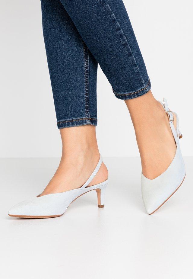 LAINA SLING - Classic heels - sky blue