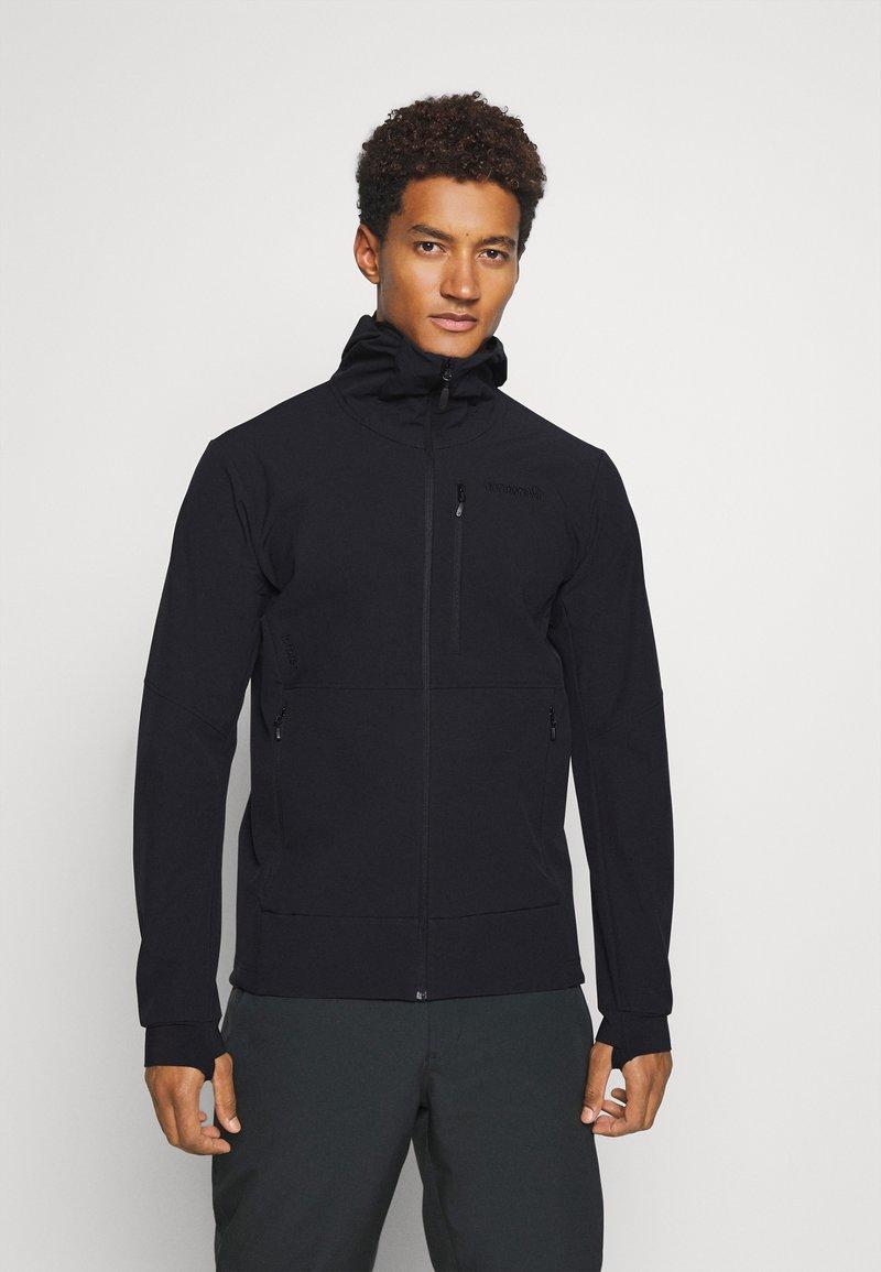 Norrøna - LOFOTEN HOOD - Ski jacket - black