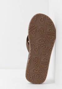 Quiksilver - CARVER - T-bar sandals - tan - 4