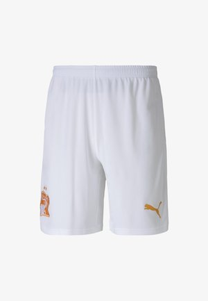 Urheilushortsit - white-flame orange