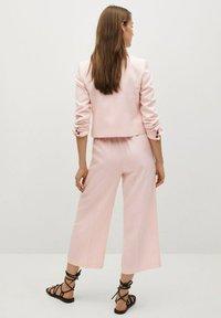 Mango - Tygbyxor - pastel pink - 2