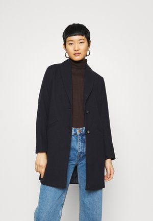 SHAWL COLLAR  - Classic coat - navy