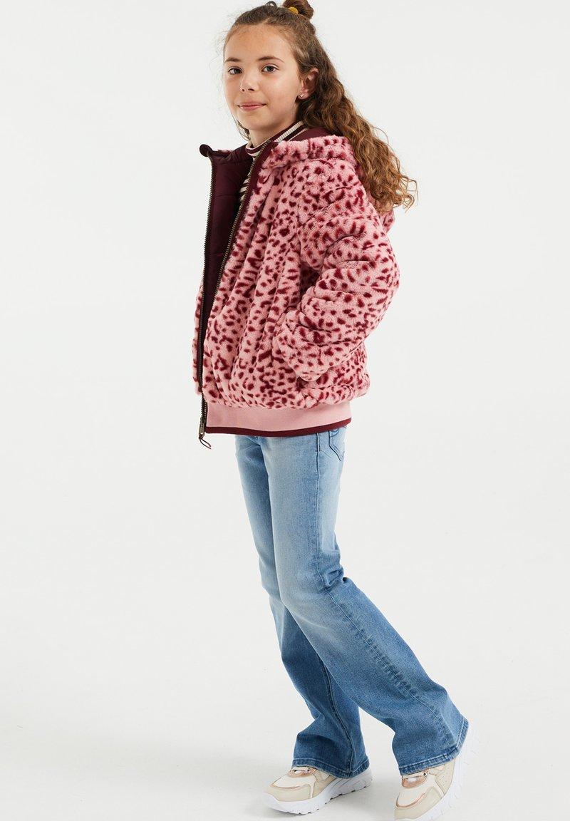 WE Fashion - Light jacket - burgundy red