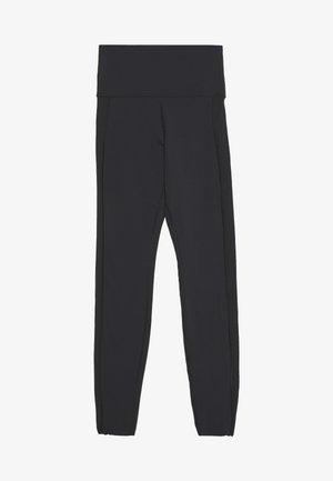 YOGA LUXE 7/8 - Legging - black/smoke grey
