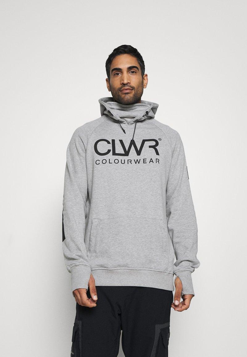 COLOURWEAR - BOWL HOOD - Sweater - grey