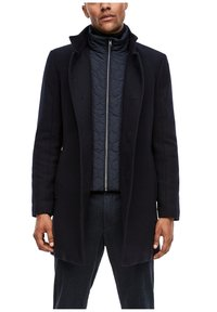 s.Oliver BLACK LABEL - STEHKRAGEN - Halflange jas - dark blue - 6