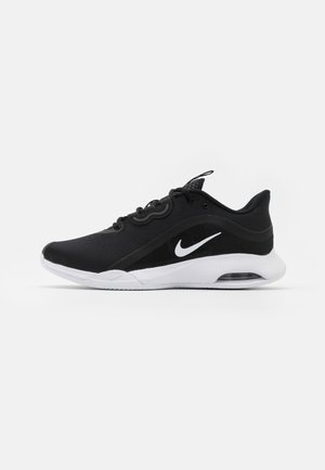 AIR MAX VOLLEY CLAY - Clay court tennis shoes - black/white