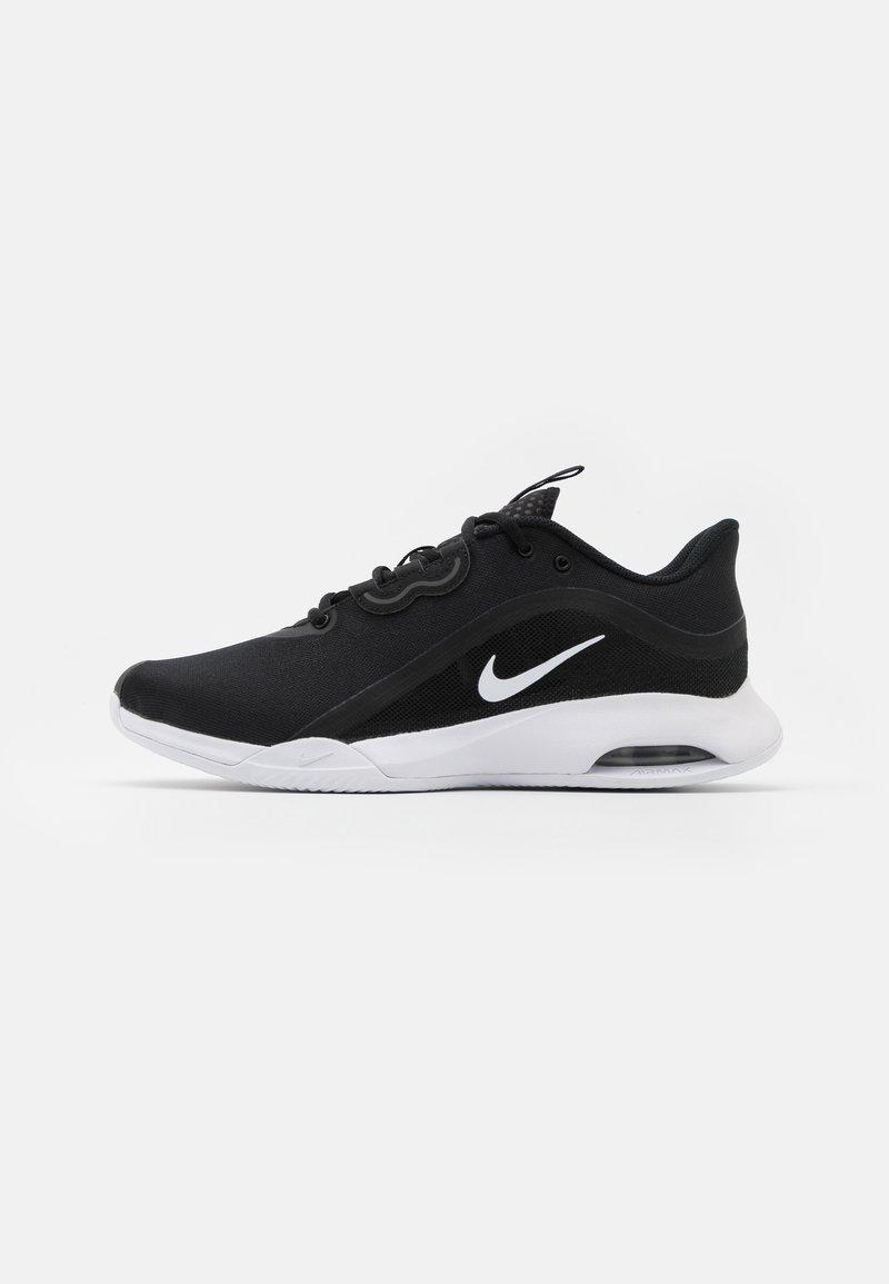 Nike Performance - AIR MAX VOLLEY CLAY - Tennisskor för grus - black/white