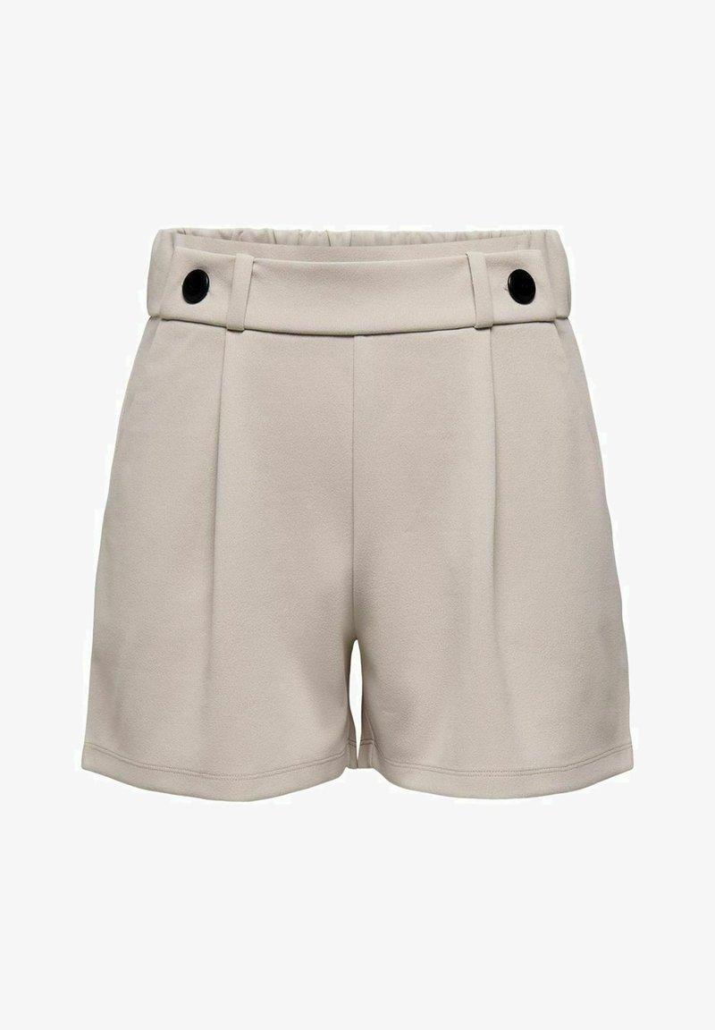 JDY - NOOS - Shorts - chateau gray black button