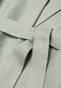 Violeta by Mango - POLLITO8 - Short coat - verde menta - 6