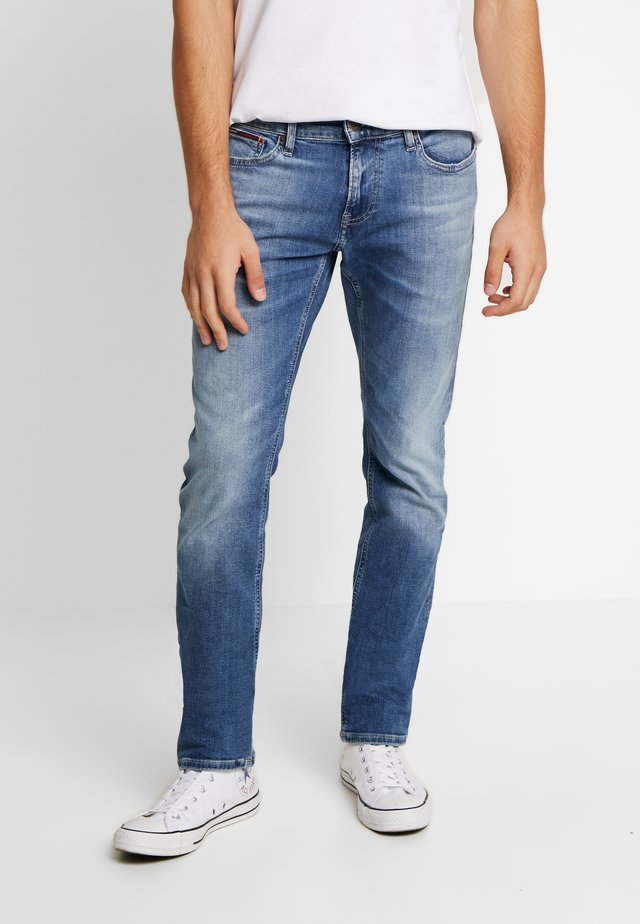 SCANTON  - Slim fit jeans - nassau mid