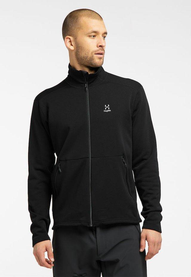 BUNGY JACKET - Fleece jacket - true black