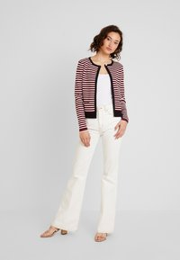 Morgan - Cardigan - rouge/off white - 1